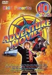 Kids' Favorite Adventure Movies - Ten Movie Collection On Five DVDS DVD Cover Art