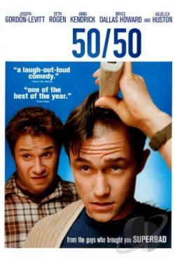 50/50 DVD Cover Art