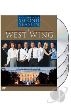West Wing - The Complete Second Season DVD Cover Art