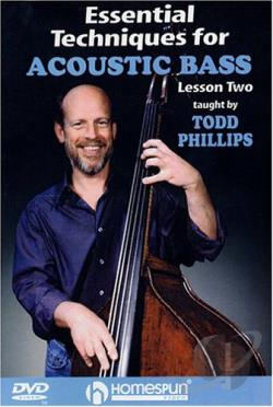 Essential Techniques for Acoustic Bass - Vol. 2 DVD Cover Art