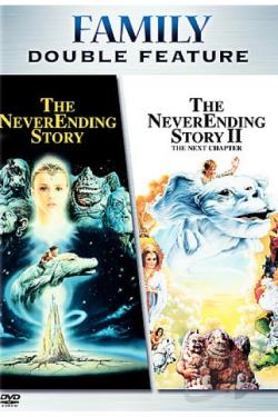 Neverending Story/Neverending Story II DVD Cover Art