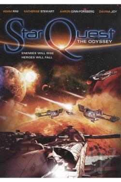 StarQuest: The Odyssey DVD Cover Art