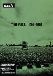 Oasis: Time Flies... 1994-2009 DVD Cover Art