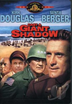 Cast a Giant Shadow DVD Cover Art