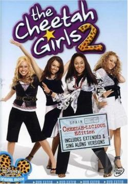 Cheetah Girls 2: Cheetah-licious Edition DVD Cover Art