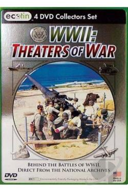 WWII: Theaters Of War DVD Cover Art