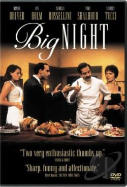 Big Night DVD Cover Art