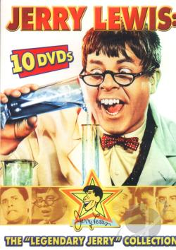 Jerry Lewis - The Legendary Jerry Lewis Collection DVD Cover Art