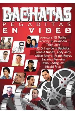 Bachatas Pegaditas En Video DVD Cover Art