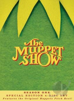 Muppet Show - The Complete First Season DVD Cover Art