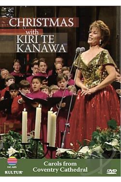 Christmas With Kiri Te Kanawa DVD Cover Art