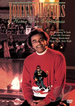 Johnny Mathis - Home for Christmas DVD Cover Art