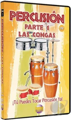 Percusion, Parte 1: Las Congas DVD Cover Art