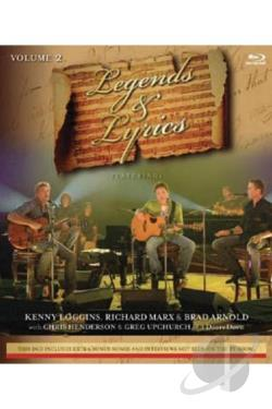 Legends & Lyrics - Vol. 2: Kenny Loggins/ Richard Marx/3 Doors Down BRAY Cover Art