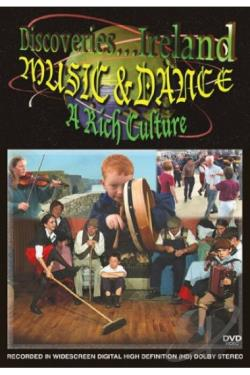 Discoveries... Ireland: Music & Dance - A Rich Culture DVD Cover Art