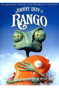 Rango DVD Cover Art