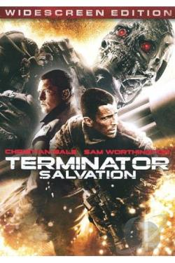 Terminator Salvation DVD Cover Art