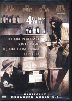 Girl In Room 20, The / Son of Ingagi / The Girl From Chicago / Lying Lips DVD Cover Art