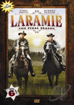 Laramie: The Final Season - In Color DVD Cover Art