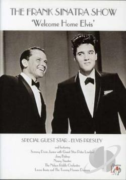 Frank Sinatra - The Frank Sinatra Show: Welcome Home Elvis DVD Cover Art