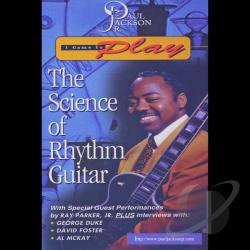 Paul Jackson, Jr.: I Came to Play - The Science of Rhythm Guitar DVD Cover Art