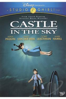 Castle in the Sky DVD Cover Art
