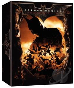 Batman Begins DVD Cover Art