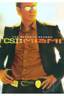 CSI: Miami - The Complete Seventh Season DVD Cover Art