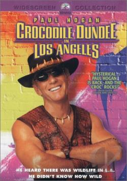 Crocodile Dundee in Los Angeles DVD Cover Art