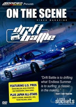 On the Scene - Drift Battle DVD Cover Art