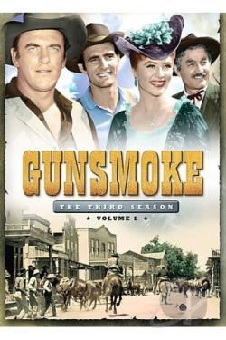 Gunsmoke - The Third Season, Volume One DVD Cover Art