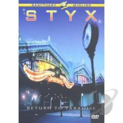 Styx: Return To The Paradise DVD Cover Art