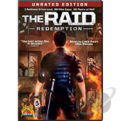 Raid: Redemption DVD Cover Art