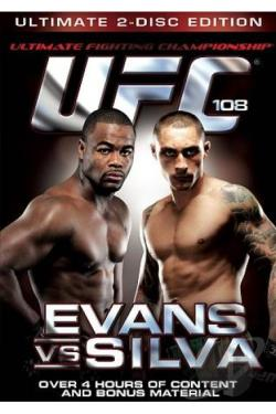 UFC 108: Evans vs. Silva DVD Cover Art