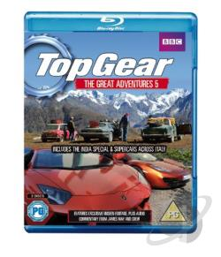 Top Gear: The Great Adventures, Vol. 5 BRAY Cover Art