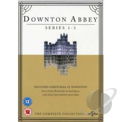 Downton Abbey-Series 1-3 + Christmas At Downton DVD Cover Art