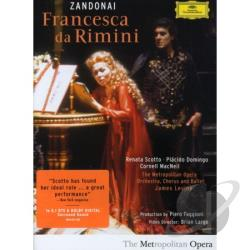 Domingo / Scotto / Levine Metropolitan Opera - Francesca Da Rimini DVD Cover Art