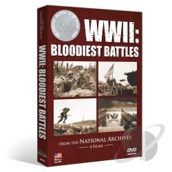 WWII: Bloodiest Battles DVD Cover Art
