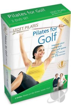Stott Pilates: Pilates for Golf DVD Cover Art
