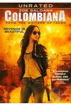 Colombiana DVD Cover Art