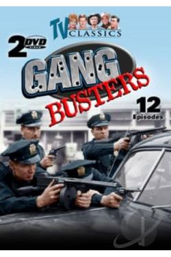 Gang Busters - Vol 1 DVD Cover Art