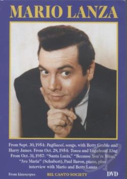 Mario Lanza DVD Cover Art