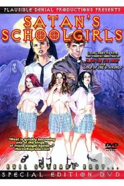 Satan's Schoolgirls DVD Cover Art