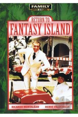 Return To Fantasy Island DVD Cover Art