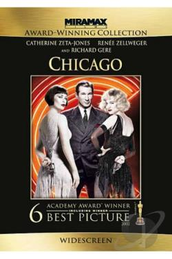 Chicago DVD Cover Art