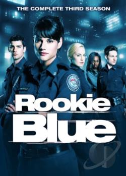 Rookie Blue - The Complete Third Season DVD Cover Art