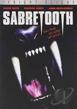 Sabretooth DVD Cover Art