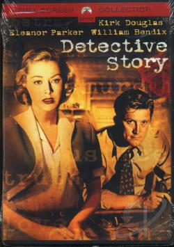 Detective Story DVD Cover Art