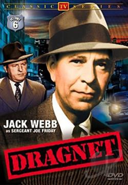 Dragnet - Volume 6 DVD Cover Art