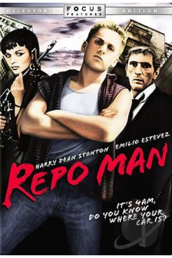 Repo Man DVD Cover Art
